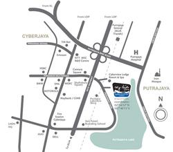 Tropez perdana lakeview east cyberjaya map thumb