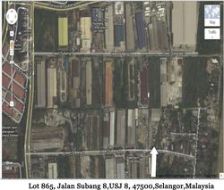 Lot 865  jalan subang 8 usj 8  47500 selangor malaysia map pic thumb
