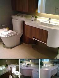 Bathroom fitting thumb